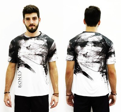 Футболка Bones T-Shirt Squash Black Ink