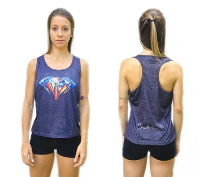 Майка Bones TankTop Diamond Dry Fit