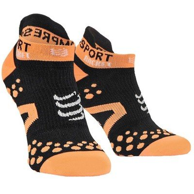 Носки Compressport Strapping Socks Low Cut Black