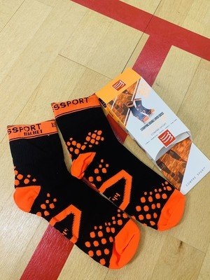 Носки Compressport Strapping Socks Black